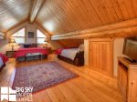 Lodging Big Sky Montana, White Otter Cabin, Bedroom 4, 1