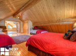 Lodging Big Sky Montana, White Otter Cabin, Bedroom 4, 2