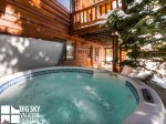 Lodging Big Sky Montana, White Otter Cabin, Private Hot Tub, 2