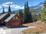 Lodging Big Sky Montana, White Otter Cabin, Exterior, 4