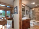 Big Sky Resort, Powder Ridge Oglala 2A, Guest Bathroom, 1