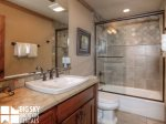Big Sky Resort, Powder Ridge Oglala 2A, Guest Bathroom, 2