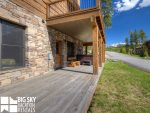 Big Sky Resort, Powder Ridge Oglala 2A, Porch, 1