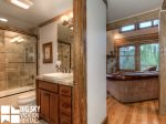 Big Sky Resort, Powder Ridge Oglala 2B, Guest Bathroom, 1