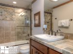 Big Sky Resort, Powder Ridge Oglala 2B, Guest Bathroom, 2