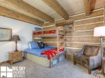 Big Sky Resort, Powder Ridge Oglala 2B, Bedroom 2, 1