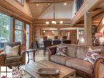 Big Sky Resort, Powder Ridge Oglala 2B, Living, 4