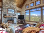 Big Sky Resort, Cowboy Heaven Luxury Suite 6D, Living, 2