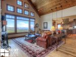 Big Sky Resort, Cowboy Heaven Luxury Suite 6D, Living, 3