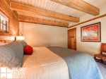 Lodging in Big Sky MT, Powder Ridge Oglala 10, Bedroom 1, 2