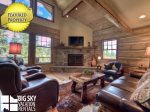 Featured Property: Lodging in Big Sky MT, Powder Ridge Oglala 10, Living