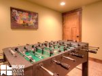 Lodging in Big Sky MT, Powder Ridge Oglala 10, Downstairs Game Room, 1