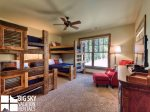 Lodging in Big Sky MT, Powder Ridge Oglala 10, Bedroom 3, 1