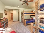 Lodging in Big Sky MT, Powder Ridge Oglala 10, Bedroom 3, 3