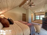 Lodging in Big Sky MT, Powder Ridge Oglala 10, Bedroom 4, 2