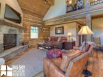 Big Sky Resort, Powder Ridge Oglala 8, Living, 2