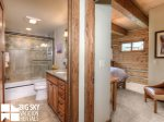 Big Sky Resort, Powder Ridge Oglala 12, Guest Bathroom, 2