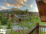 Big Sky Resort, Powder Ridge Oglala 12, Bedroom 4 Deck View, 3