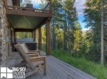 Big Sky Resort, Powder Ridge Oglala 12, Lower Deck, 1