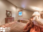 Big Sky Montana Condo Rental, Black Eagle Lodge 16, Bedroom 3, 2