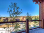 Big Sky Montana Condo Rental, Black Eagle Lodge 16, Deck