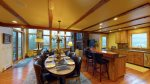 Big Sky Montana Condo Rental, Black Eagle Lodge 16, Dining 1, 2