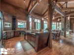 Big Sky MT Lodging, Swift Bear Chalet, Kitchen, 1