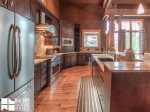 Big Sky MT Lodging, Swift Bear Chalet, Kitchen, 2