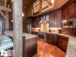 Big Sky MT Lodging, Swift Bear Chalet, Kitchen, 3