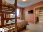 Big Sky MT Lodging, Swift Bear Chalet, Bedroom 3, 2