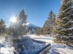 Big Sky MT Lodging, Swift Bear Chalet, Private Hot Tub, 3