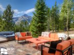 Big Sky MT Lodging, Swift Bear Chalet, Deck, 1