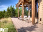 Big Sky MT Lodging, Swift Bear Chalet, Deck, 4