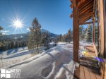 Big Sky MT Lodging, Swift Bear Chalet, Deck, 6