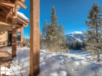 Big Sky MT Lodging, Swift Bear Chalet, Deck, 7