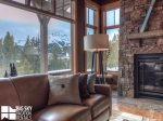 Big Sky MT Lodging, Swift Bear Chalet, Living, 4