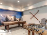 Big Sky Resort, Cowboy Heaven Luxury Suite 7A, Shared Complex Game Room, 2