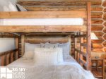 Cowboy Heaven Big Sky Cabin 15 Bandit, Bedroom 2, 2