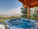 Cowboy Heaven Big Sky Cabin 15 Bandit, Private Hot Tub, 2