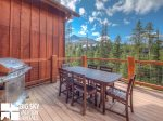 Big Sky Accommodation, Black Eagle Lodge 5, Deck, 1
