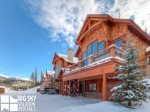 Big Sky Ski Resort Lodging, Black Eagle Lodge 23, Exterior, 2