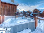 Big Sky Montana Condos, Black Eagle Lodge 24, Private Hot Tub, 1
