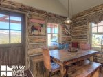 Big Sky Cowboy Heaven Cabin 11 Derringer, Dining, 2