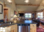 Big Sky Cowboy Heaven Cabin 11 Derringer, Kitchen, 1
