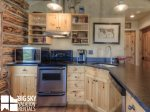 Big Sky Cowboy Heaven Cabin 11 Derringer, Kitchen, 2