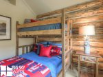 Big Sky Cowboy Heaven Cabin 11 Derringer, Bedroom 2, 1