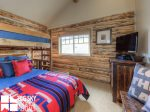 Big Sky Cowboy Heaven Cabin 11 Derringer, Bedroom 2, 2