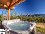 Big Sky Cowboy Heaven Cabin 11 Derringer, Private Hot Tub, 2