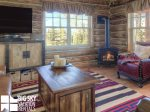 Big SkyCowboy Heaven Cabin 11 Derringer, Living, 3