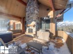 Big Sky Resort, Cowboy Heaven Luxury Suite 7D, Deck, 1